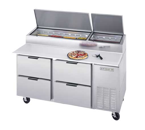 Choosing the Right Pizza Prep Table for Your Business | Commercial ...