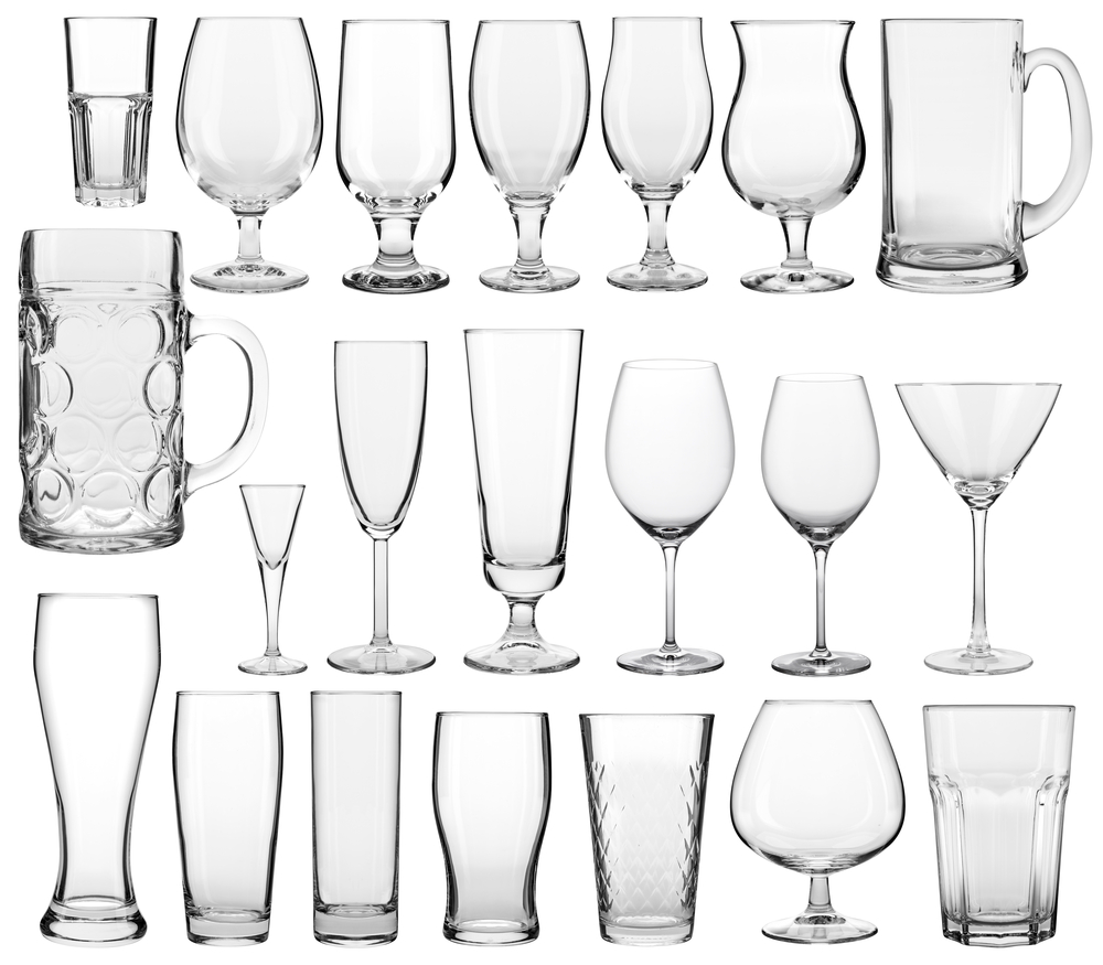 Different Types of Glassware | Commercial Kitchen Equipment ...